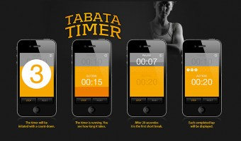 Application Tabata Timer iPhone
