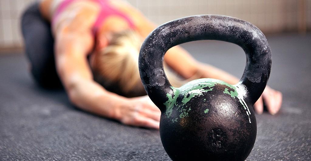 Entraînement Kettlebell musculation femme