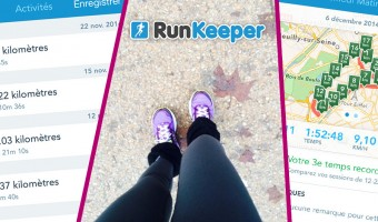 Aplication smartphone running, Runkeeper